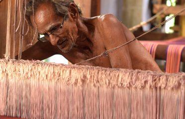 Weaving~Chennimalai