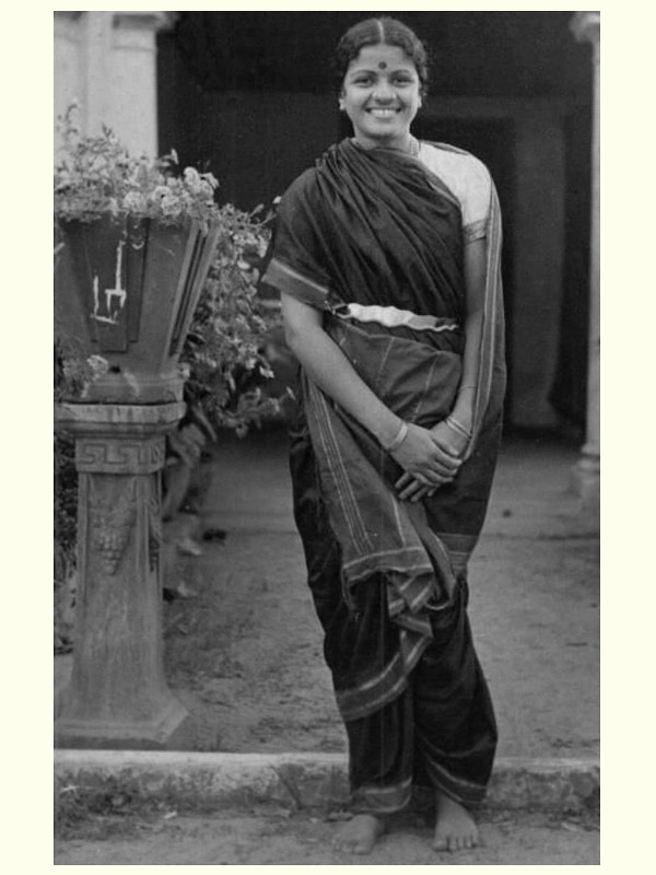 M-S-subbalakshmi in saree