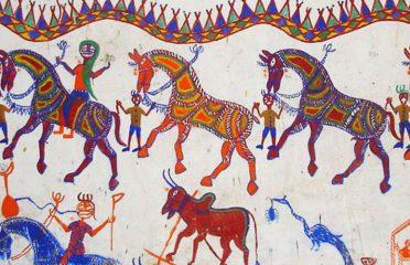 Pithora painting~Chotaudaipur