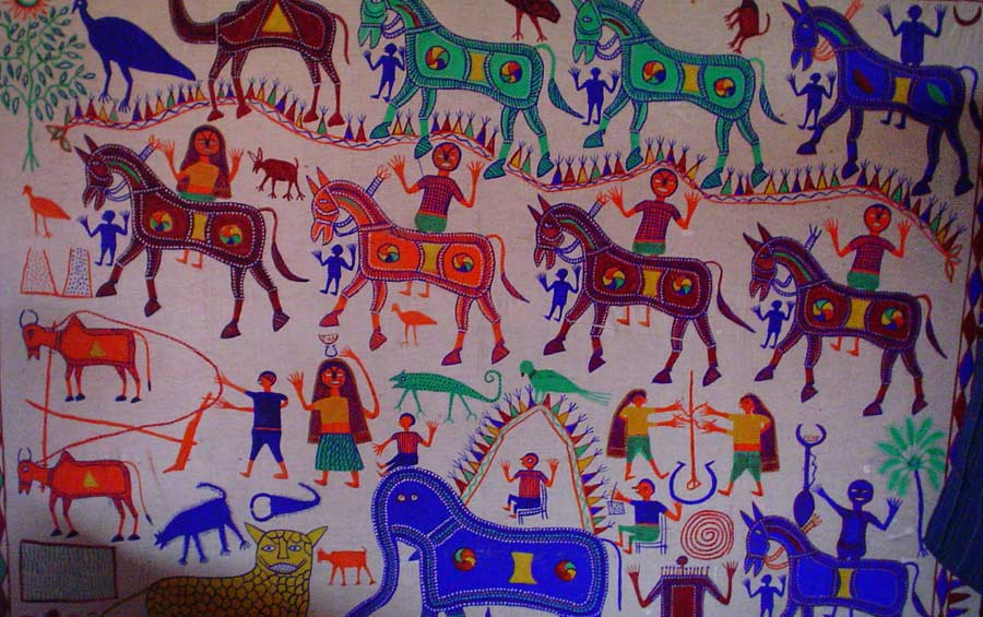 Story Pithora painting concept