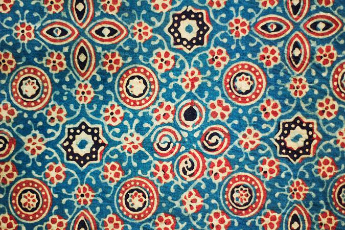 Ajrakh - Traditional Design