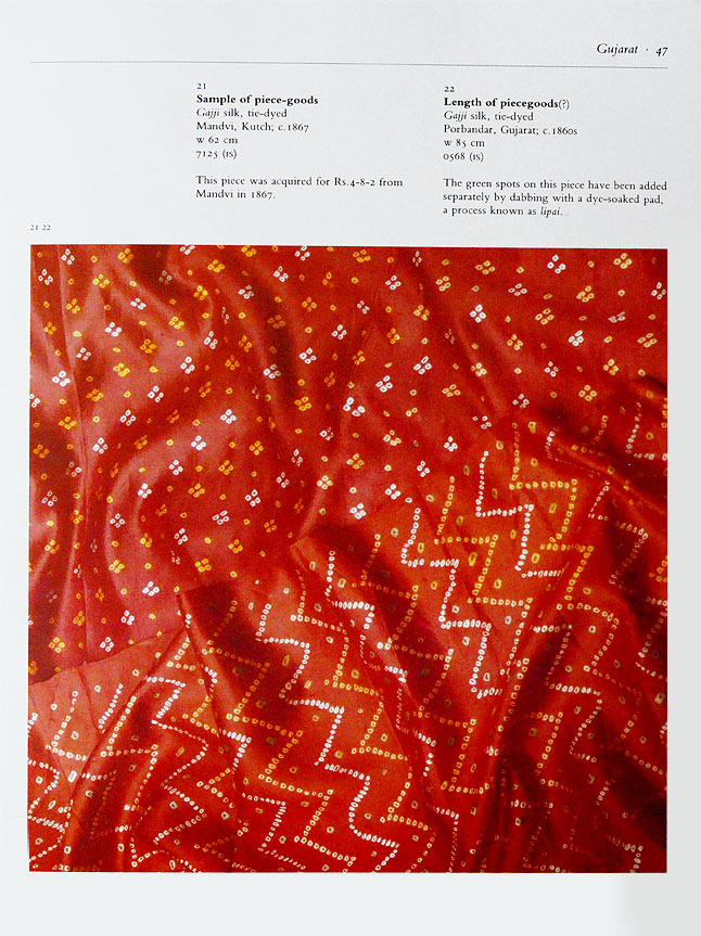 Traditional bandhani design
