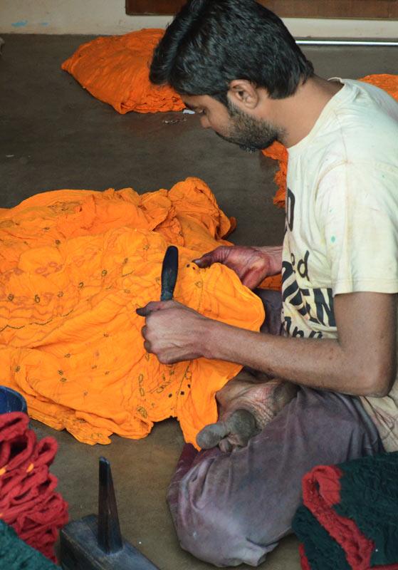 Kutch Bandhani craft process