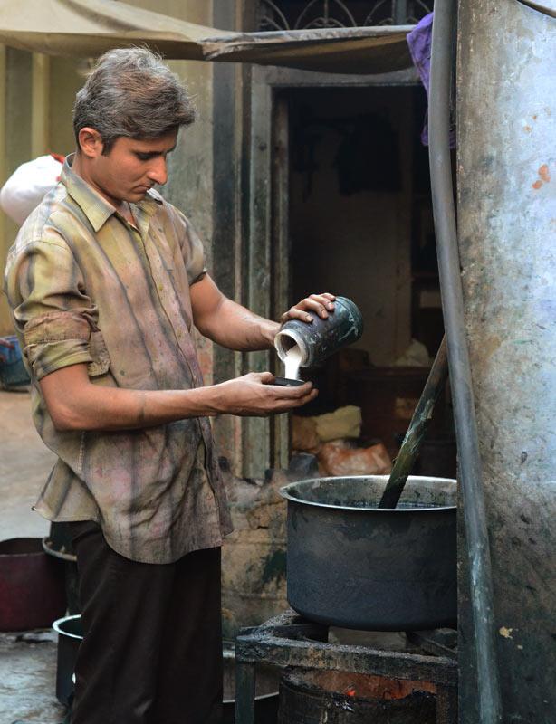 Kutch Bandhani craft process artisan