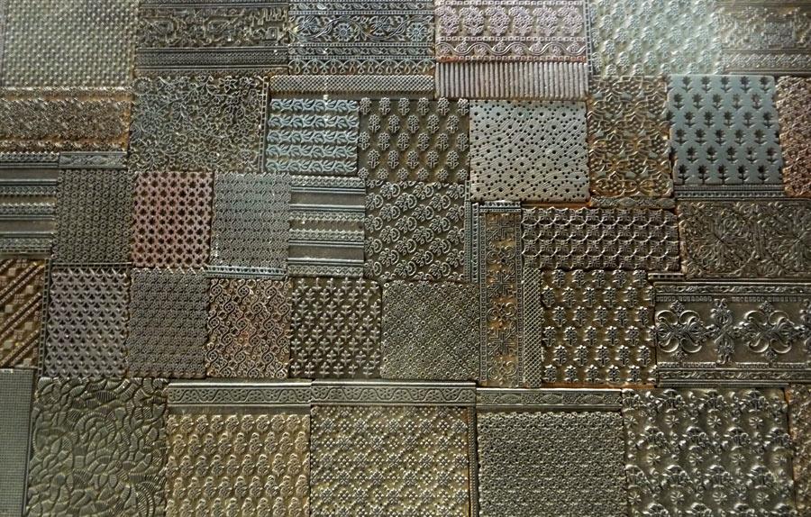 Carved blocks for Gaamthi Print
