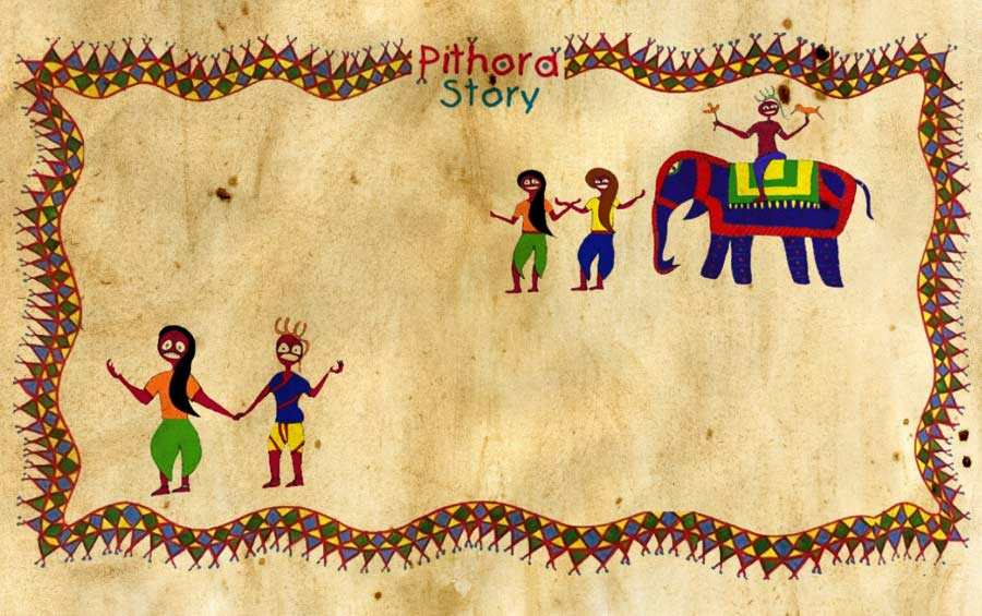 Story Pithora painting Gujarat