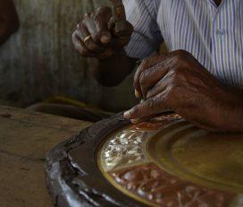 Art Plate~Thanjavur