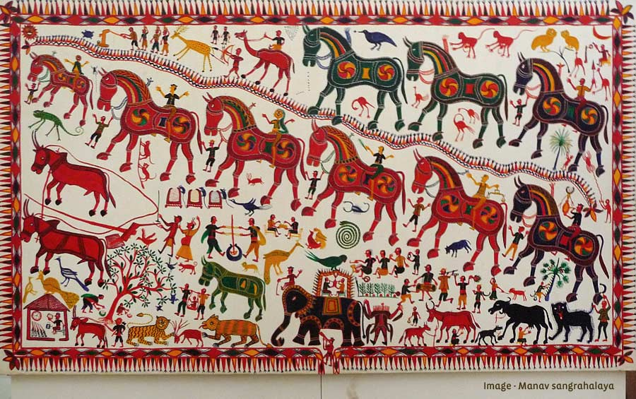 Pithora painting - Gujarat