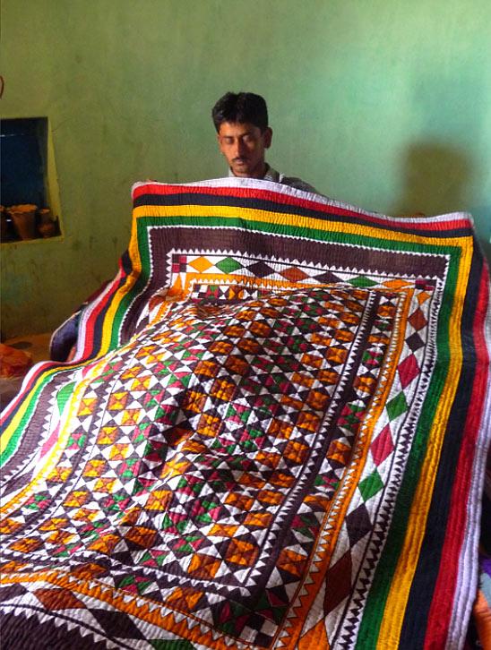 Quilt making craft kutch
