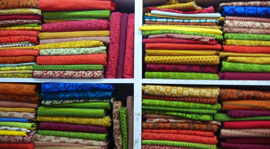 Stacks of Gaamthi saree