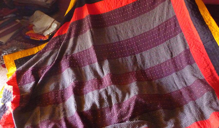 Documentation Quilt making craft kutch